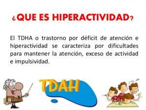El trastorno de déficit de atención e hiperactividad (TDAH)