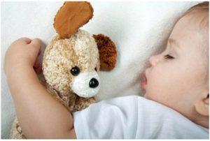 Beneficios del sueño del bebe