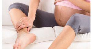 Rutinas para evitar la hinchazón en el embarazo