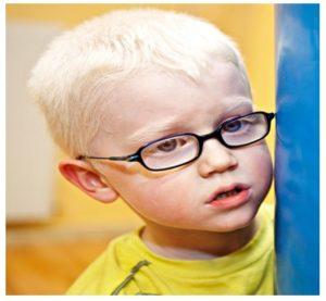 Tratamiento del albinismo