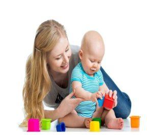 Ejercicios para la capacidad motora del bebé